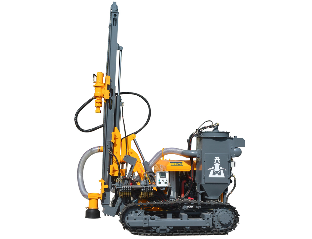 kaishan KGH3AIII surface DTH drilling rig
