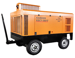 KAISHAN KSCY Diesel portable Screw Air Compressor