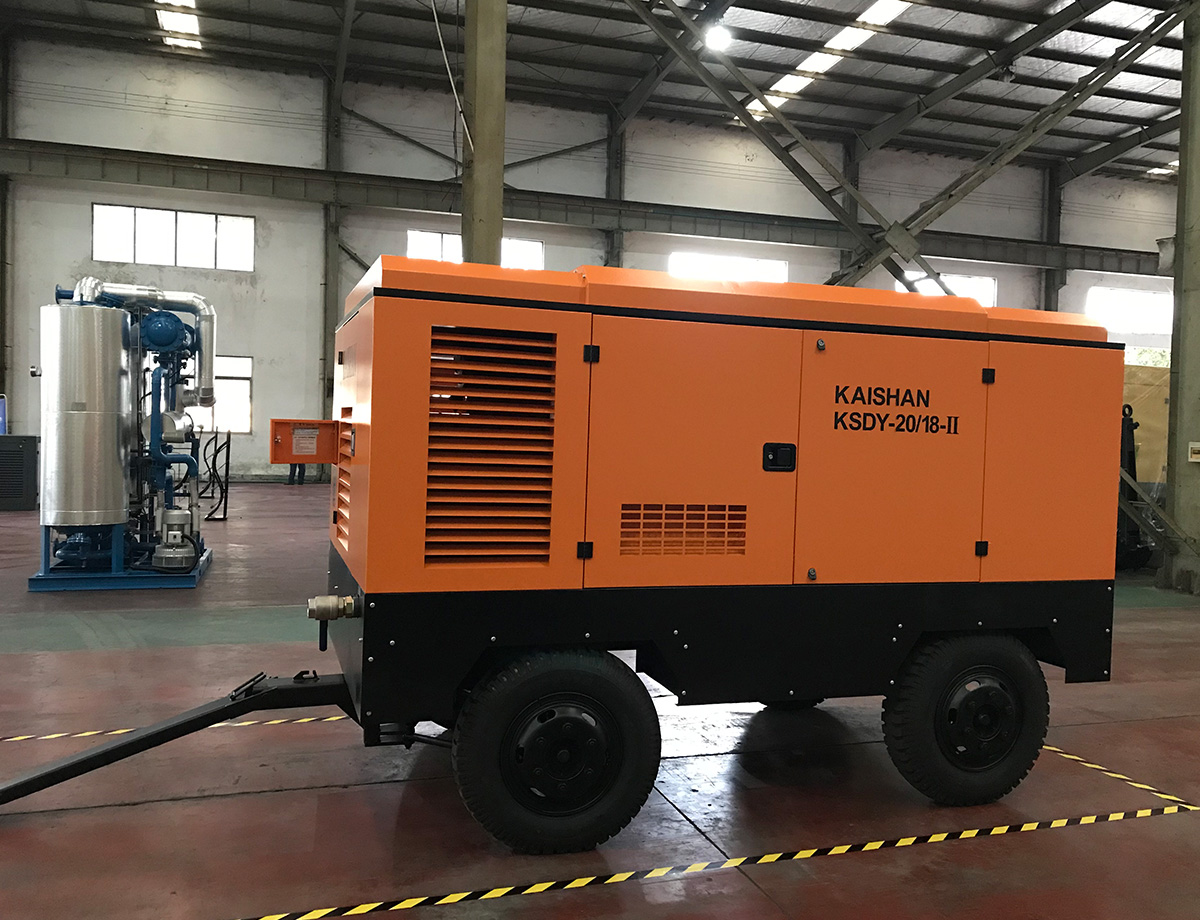 KAISHAN KSDY Electrical Portable Screw Air Compressor