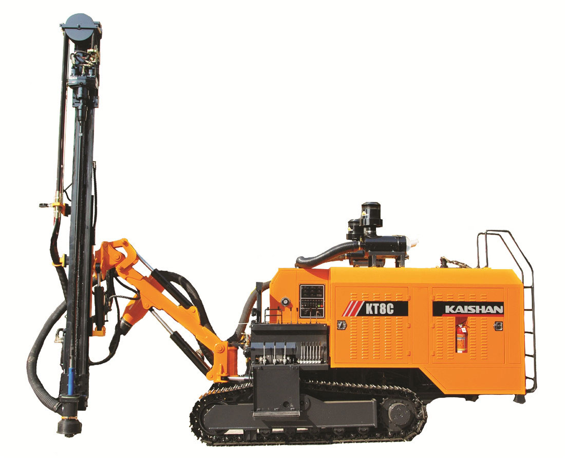 KT8 Integrated Surface DTH Drilling Rig