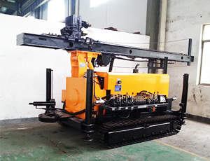KW10/YCW10 Geothermal Water Well Crawler Drilling Rig