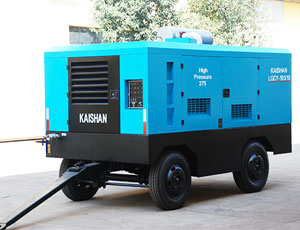 KAISHAN LG High Pressure Diesel Protable Screw Air Compressor