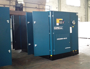 KHE Series Two-stage Compression Normal Pressure Screw Air Compressor